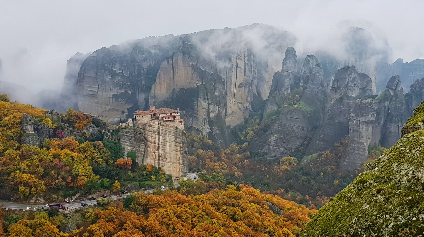 Take in Meteora on a road trip through the north of Greece