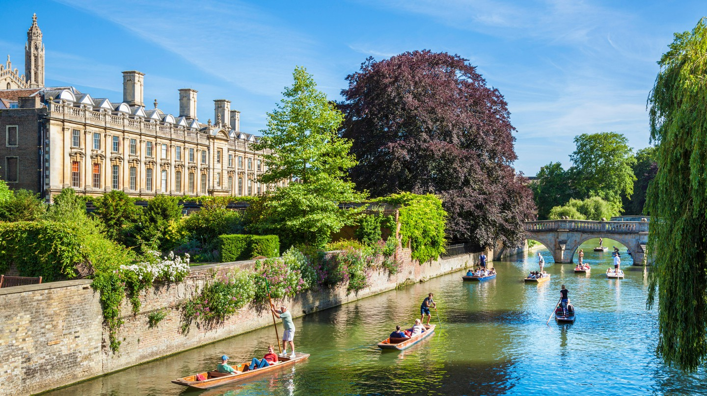 Cambridge has many attractions that will entice both parents and kids