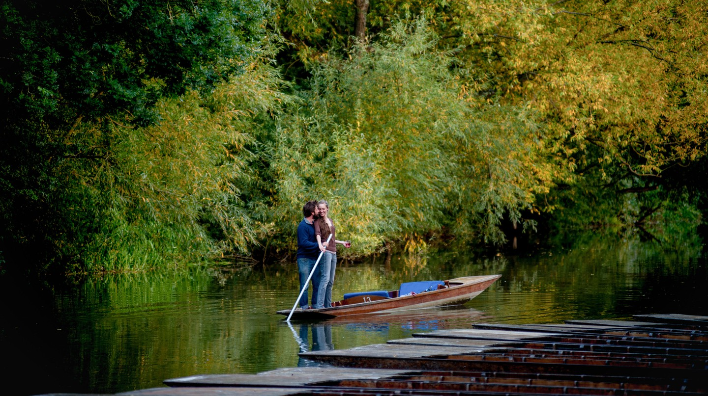 Cambridge offers a number of perfect outings for that next date