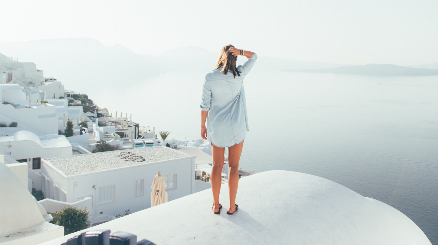 Santorini is a dream wellness destination