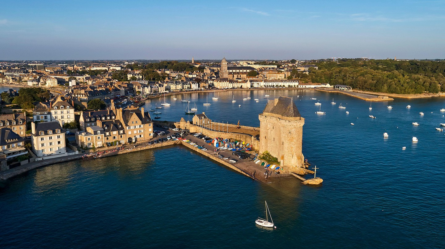 The port city of Saint-Malo in Brittany was once a stronghold for privateers