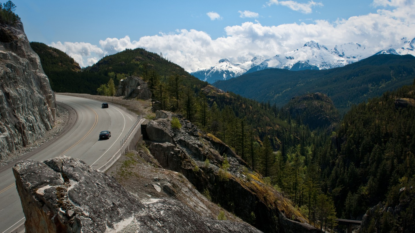 The Sea to Sky Highway that connects Whistler to Vancouver is an experience in itself