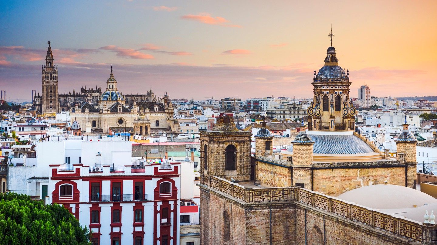 For Gothic architecture and rustic charm, head for Seville when you're in Andalucia