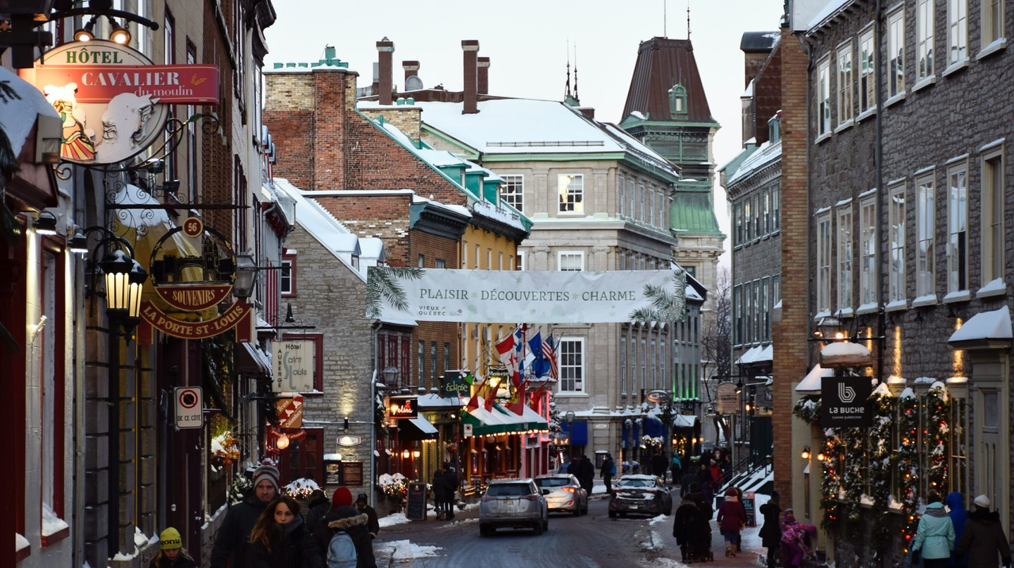 Quebec City is beautiful year-round, but it shines in winter