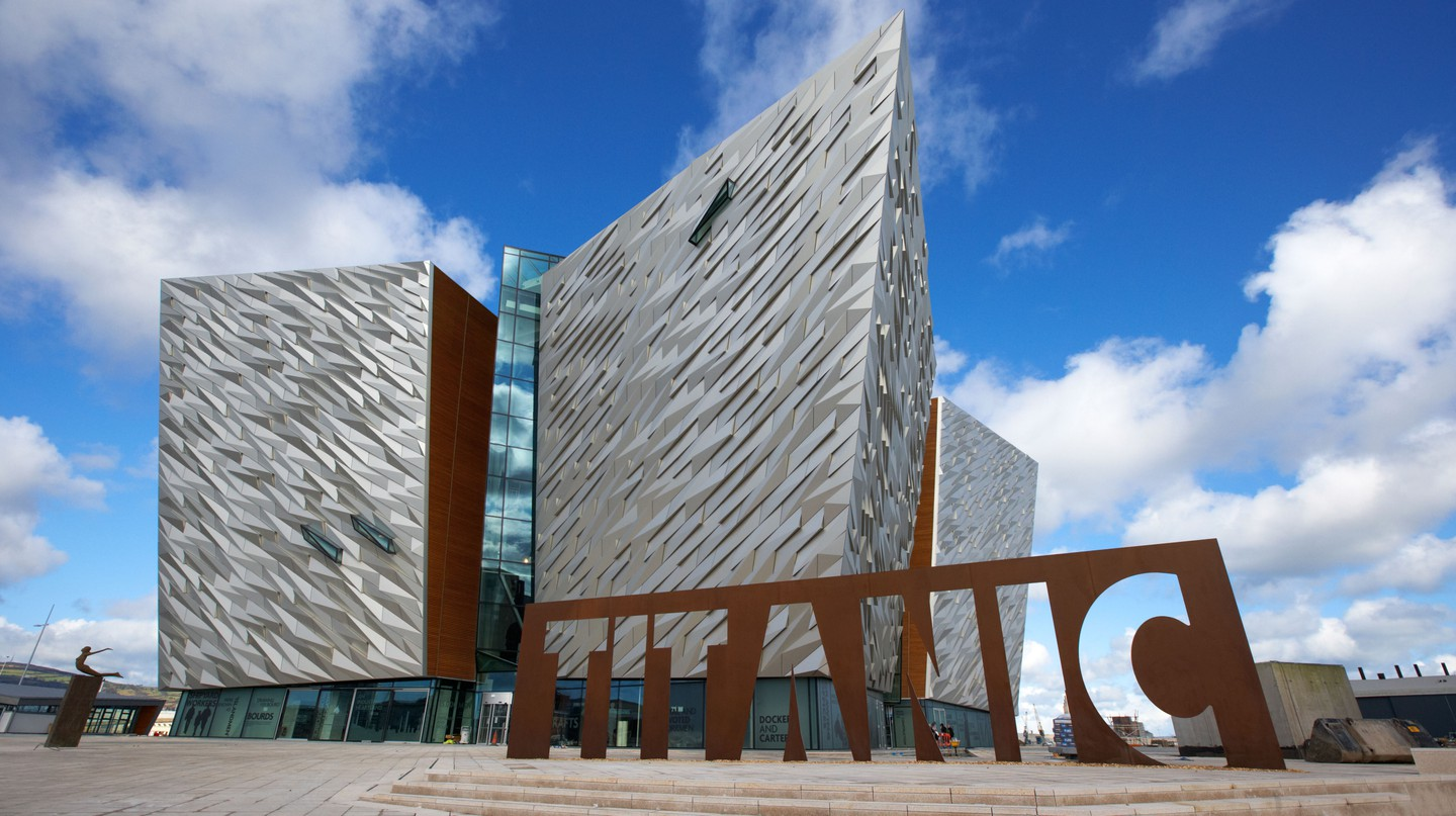 The Titanic Museum is one of Belfast's most fascinating landmarks