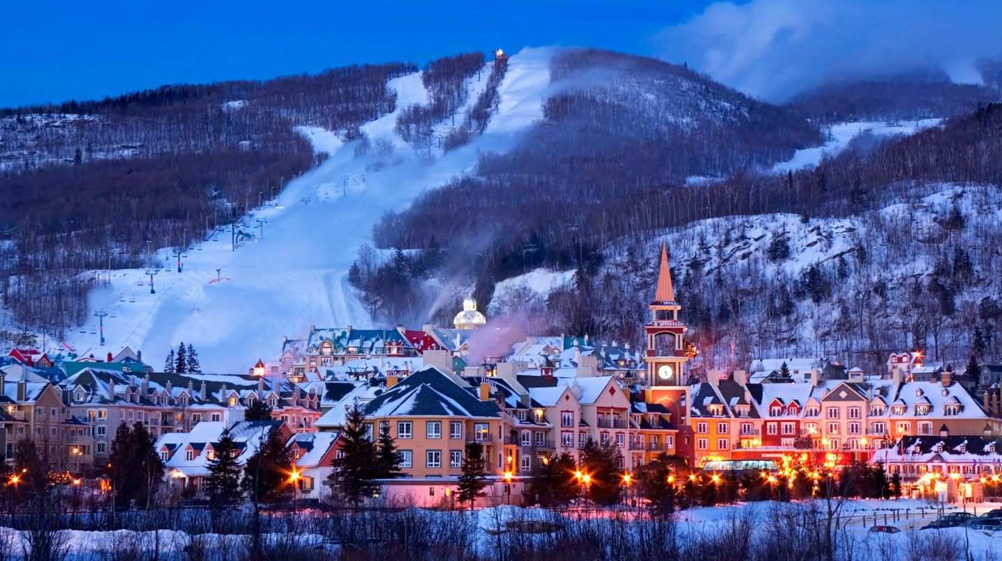 Mont-Tremblant is a hub for a variety of outdoor activities