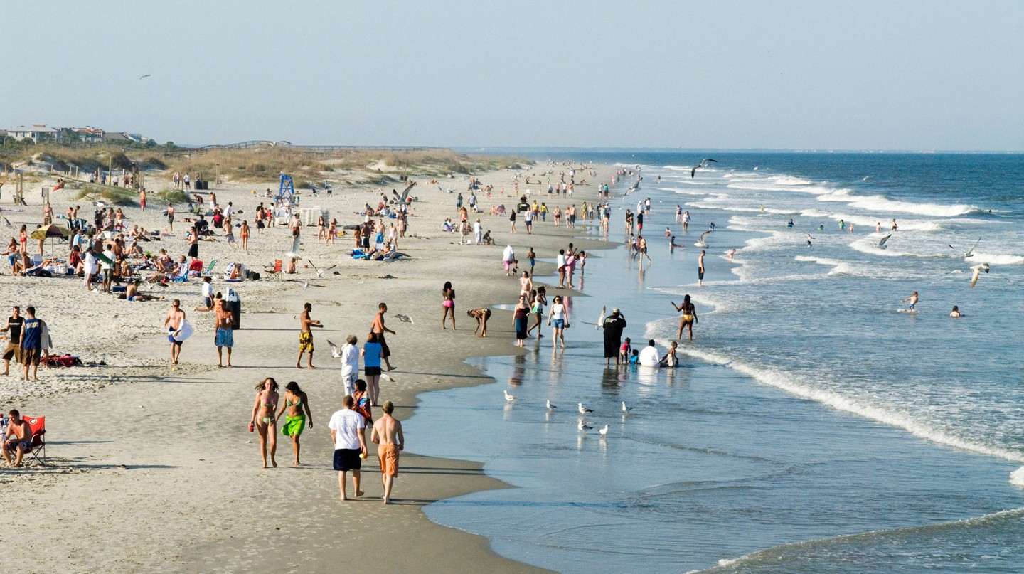 Tybee Island is brimming with beaches that attract both residents and tourists
