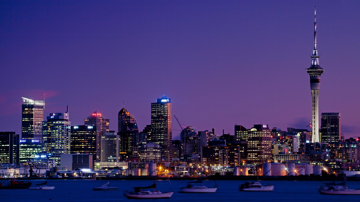 Auckland's Sky Tower is the tallest building in the southern hemisphere