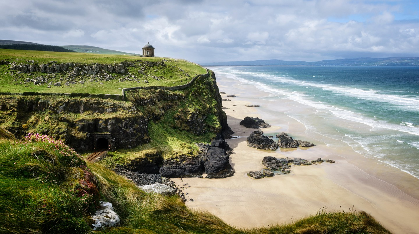 Northern Ireland's coast enjoys stunning stretches of sand and inviting sea