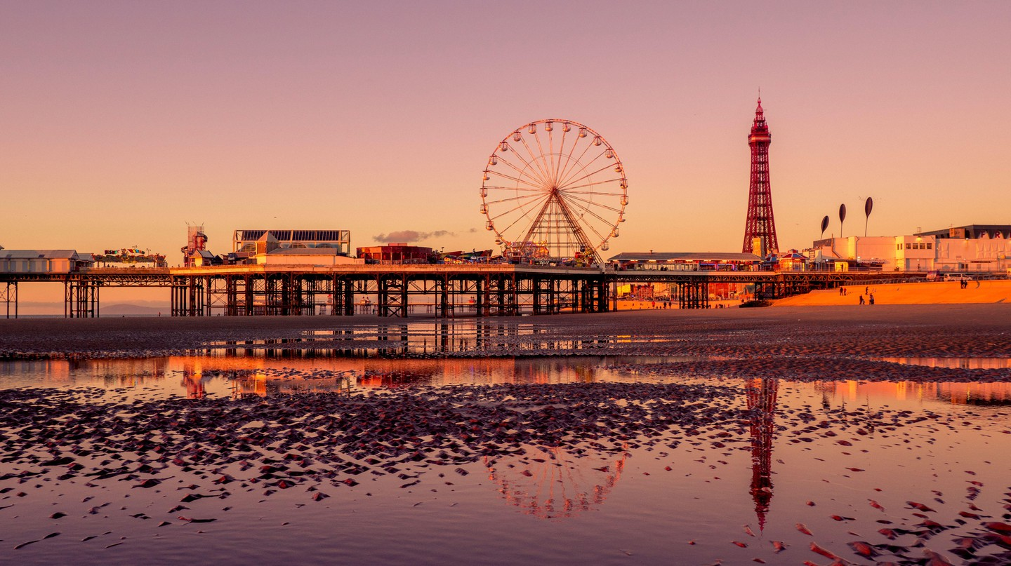 Blackpool is one of many exciting destinations in Lancashire