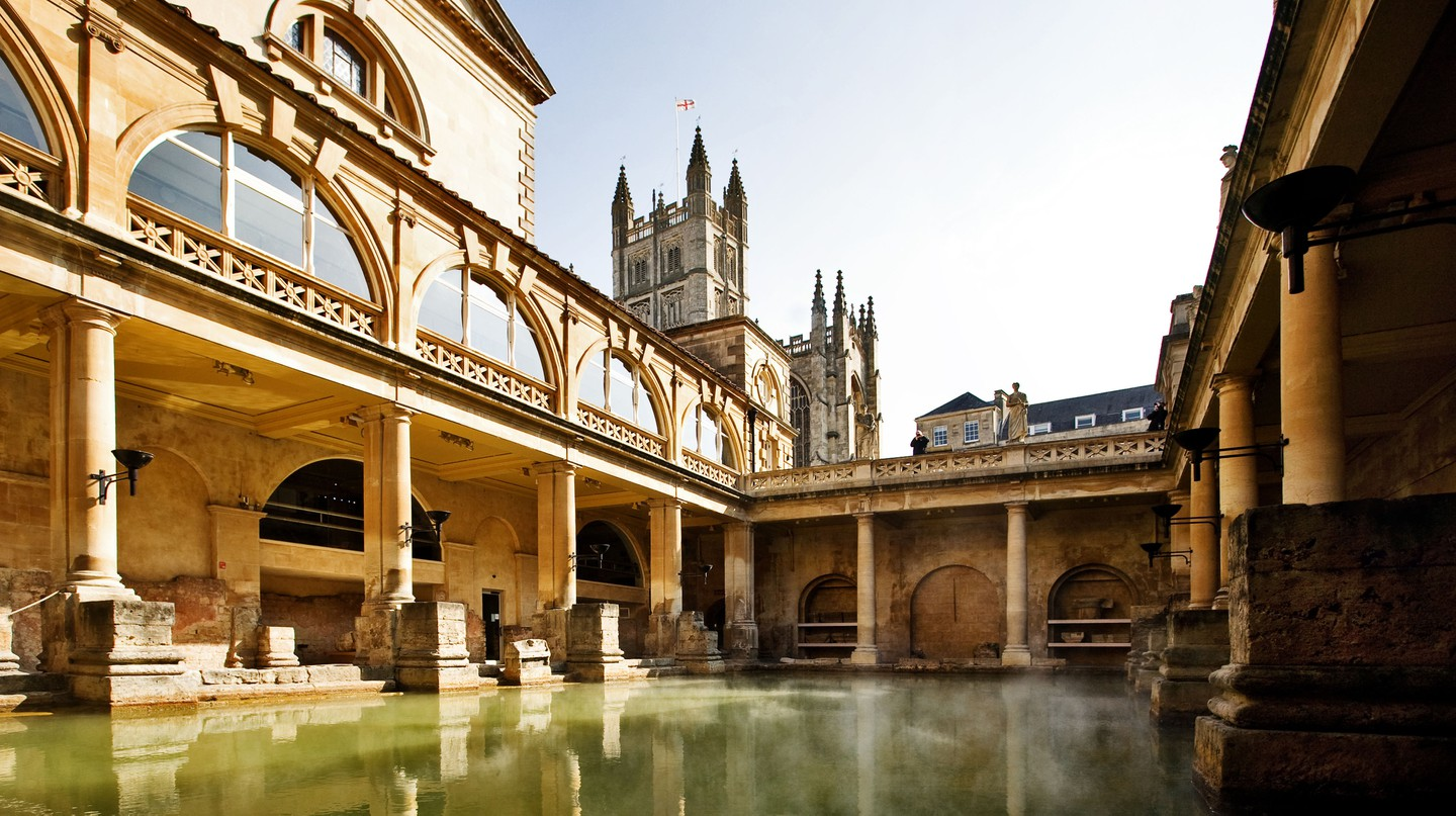 The Roman Baths are one of the many highlights of this UNESCO-listed city