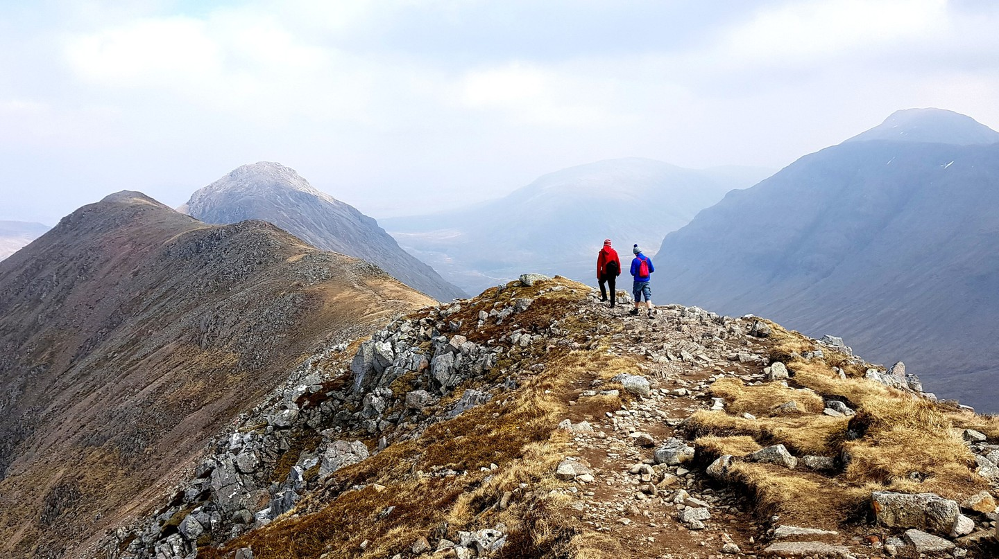 Glencoe is only two hours from Glasgow, yet a world away in terms of its remoteness