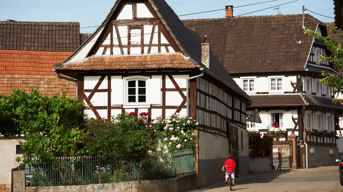 Hunspach's village charm has earned it the top spot in France