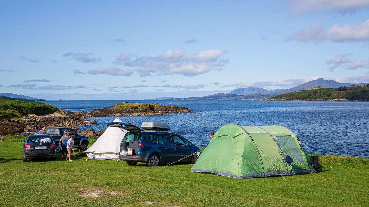 Cork offers idyllic landscapes for a perfect camping trip