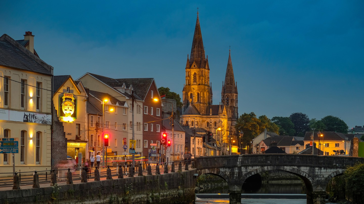 Exploring Cork by moonlight is a must