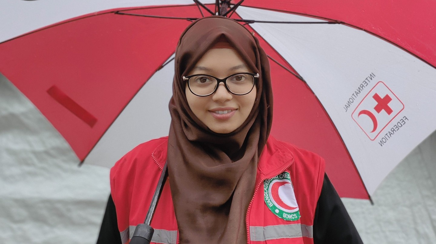 Dr Mumtaz Hussain is a surgeon with Red Crescent in Cox's Bazar, Bangladesh