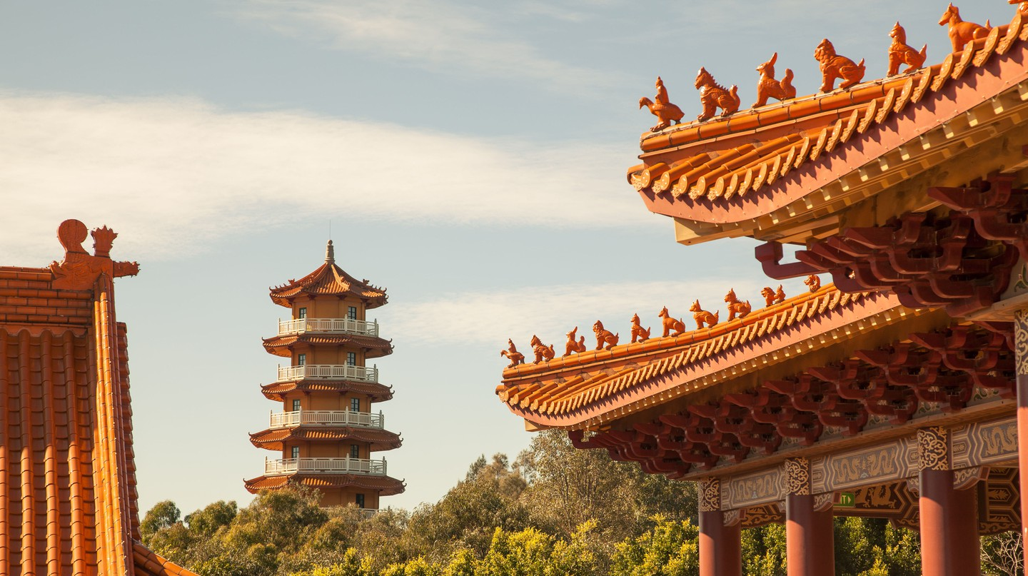 Wollongong is home to the largest Buddhist temple in the Southern Hemisphere