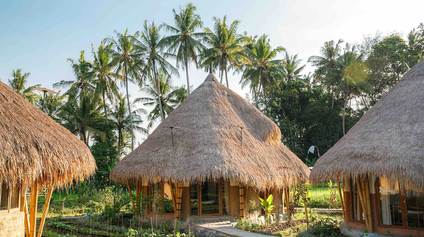 Mana Earthly Paradise is all about sustainability, with zero-waste mattresses, solar panels and furniture made from reclaimed wood