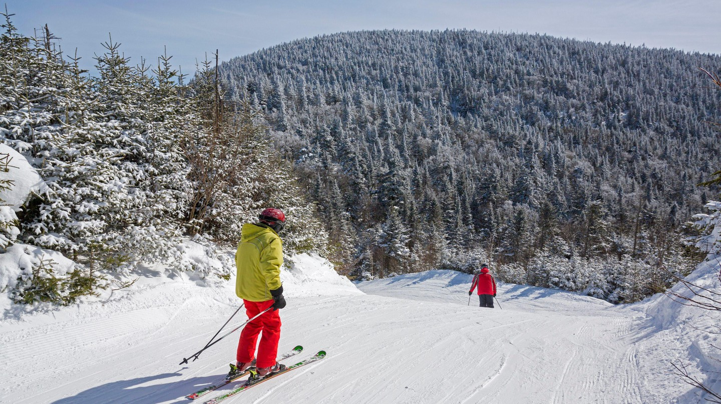 Montreal's nearby peaks offer an abundance of skiing and snowboarding options