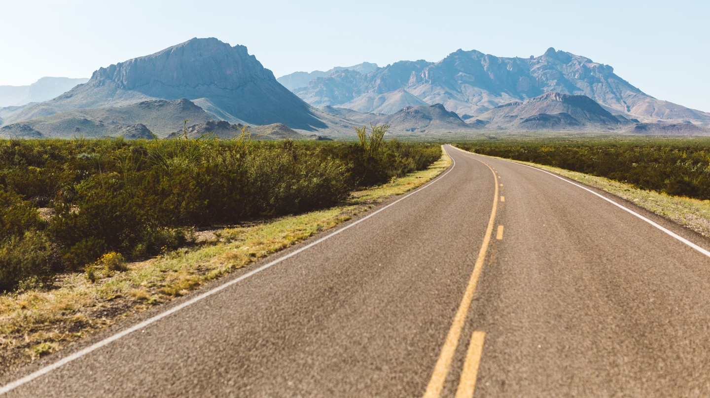 Big Bend National Park can be easily reached from Houston