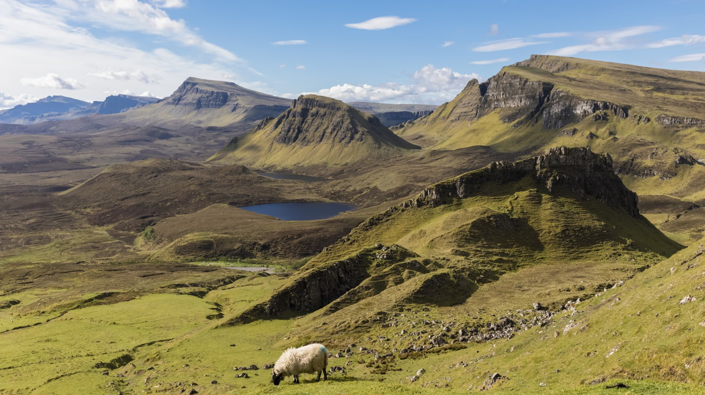 Scotland is known for its natural beauty