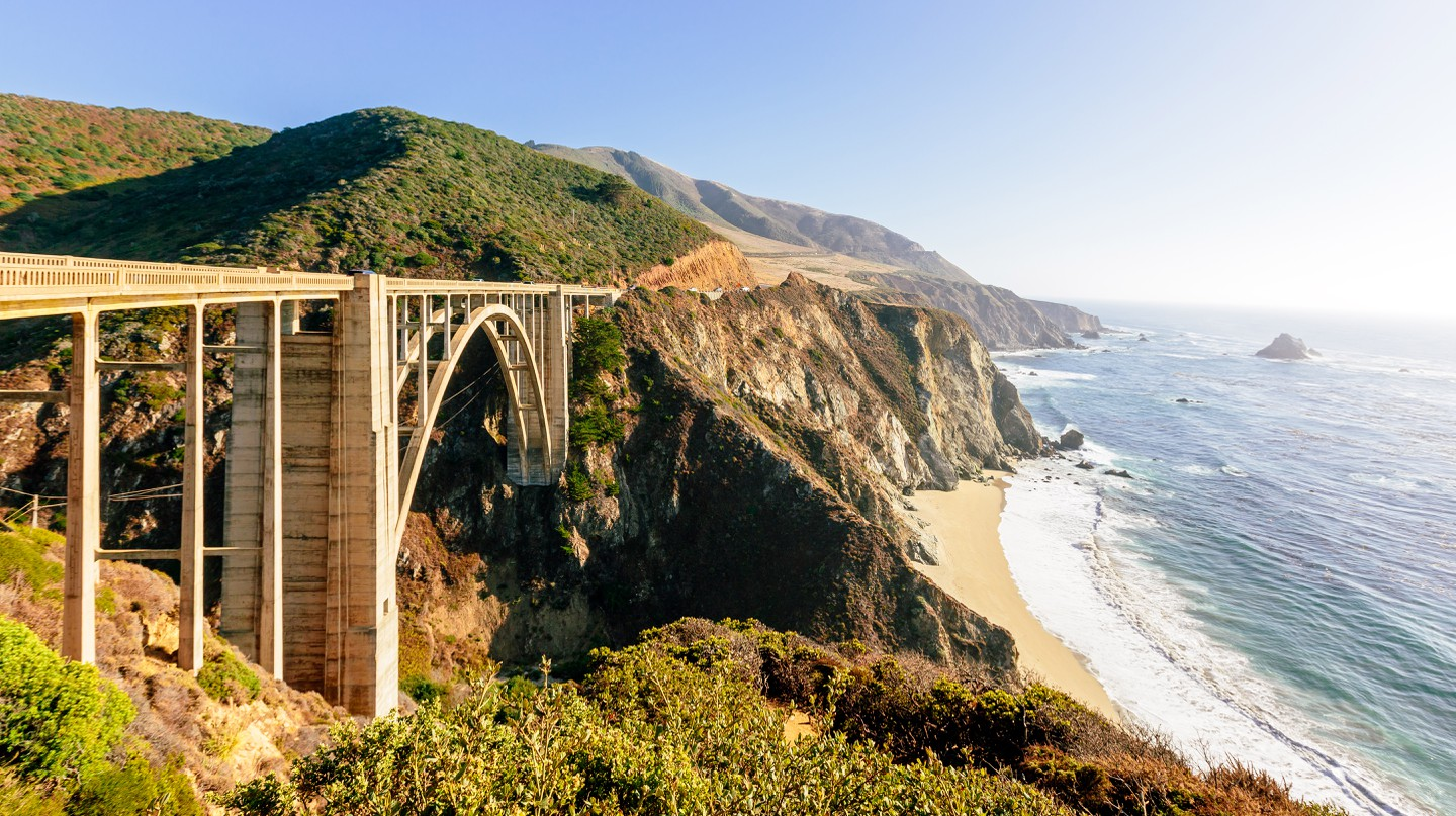 Spectacular views are just a part of the road trip along the Pacific Coast Highway