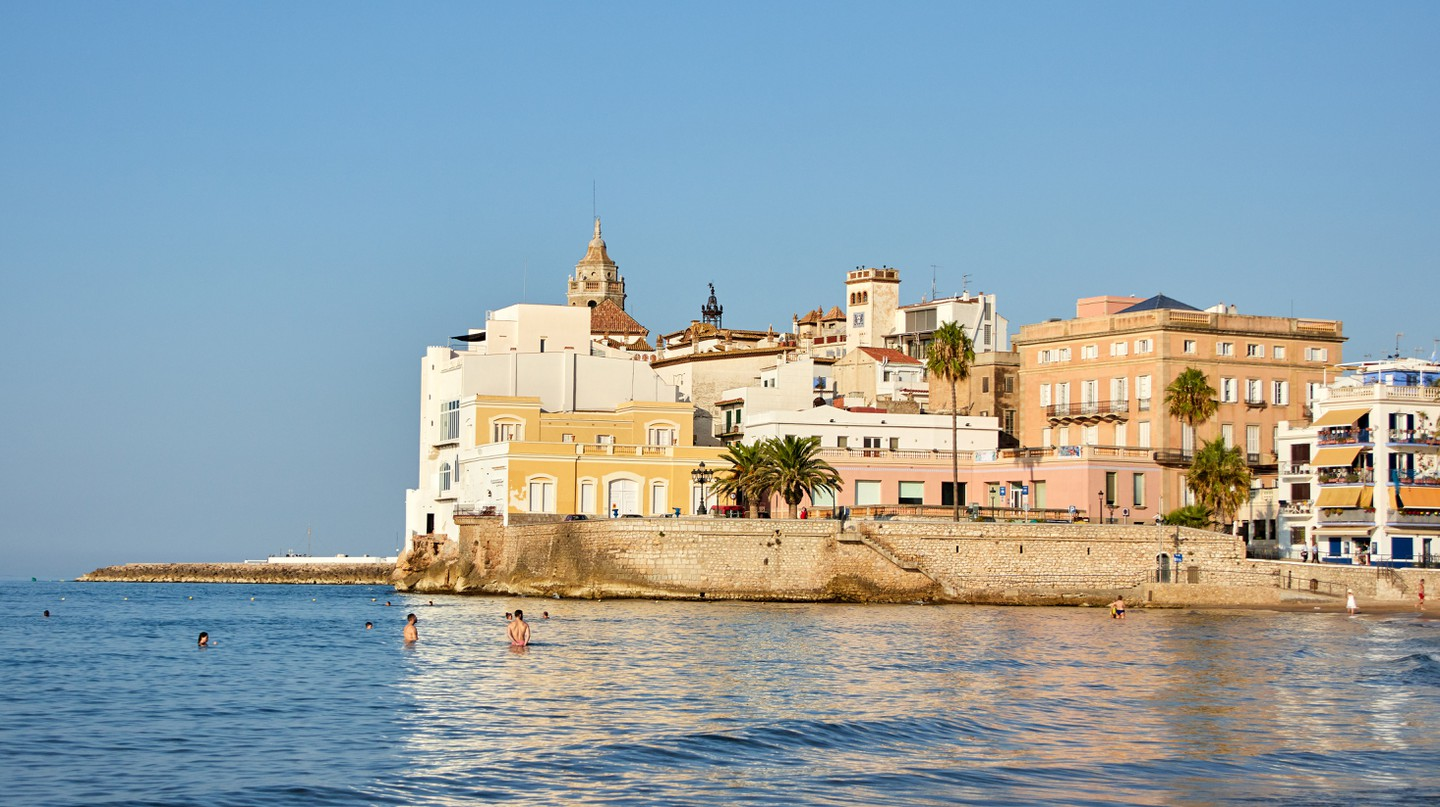 Sitges is famous for its LGBTQ-friendly vibe