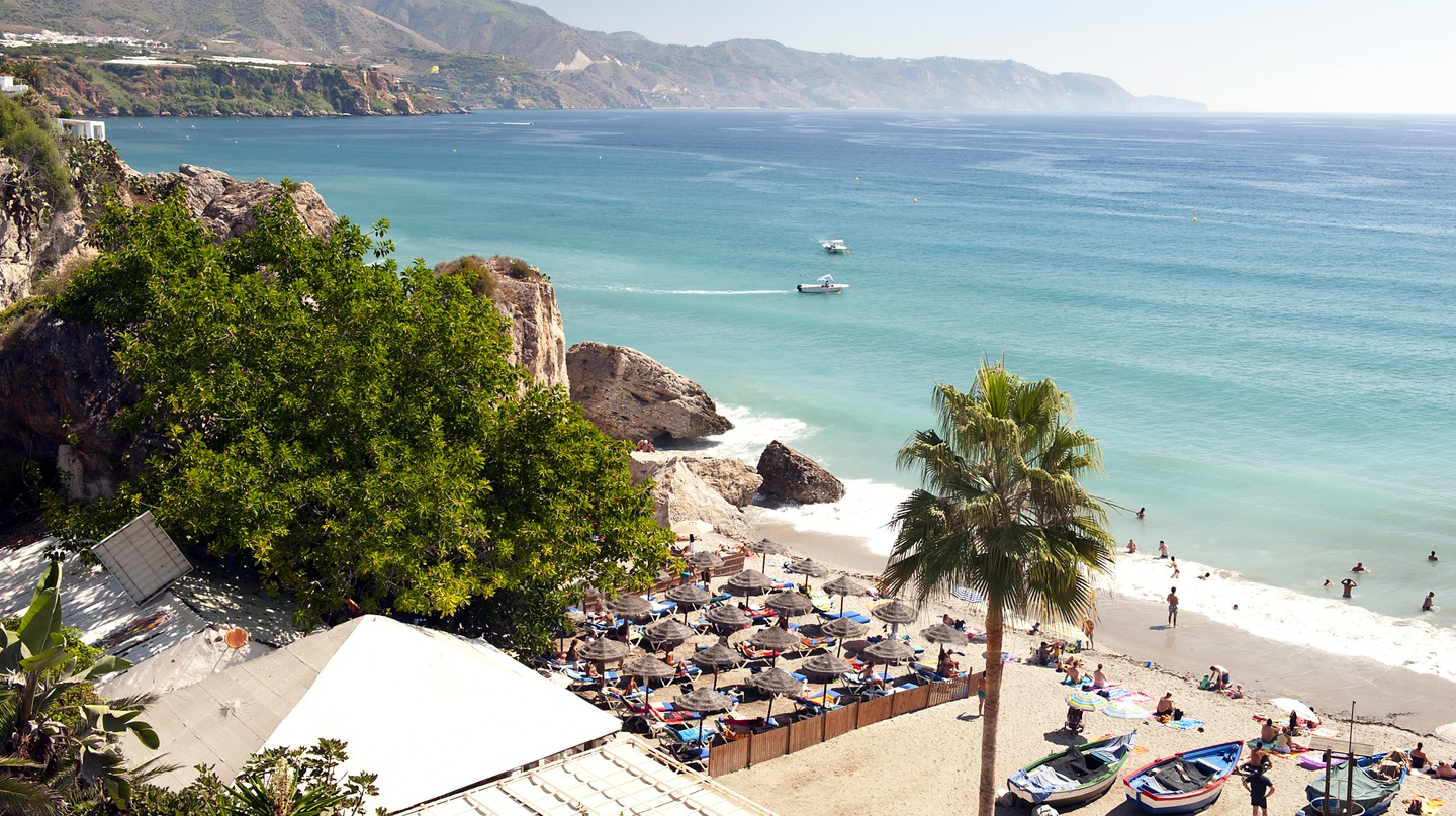 Nerja is just one of the Costa del Sol's many inviting beach spots