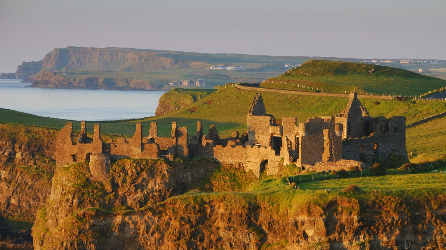 Dunluce Castle, County Antrim, Northern Ireland