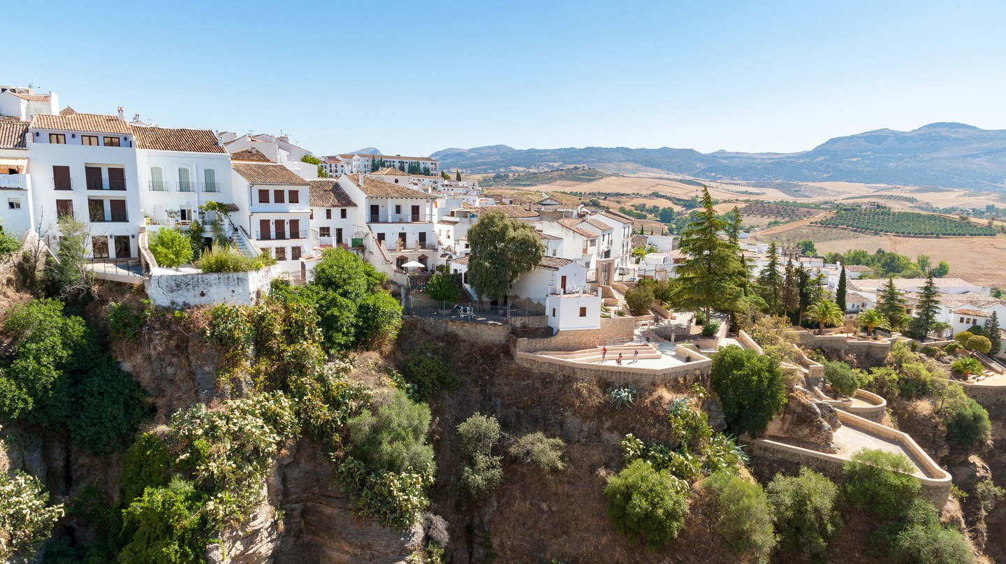 The mountaintop village of Ronda is one of the best places to visit in Spain