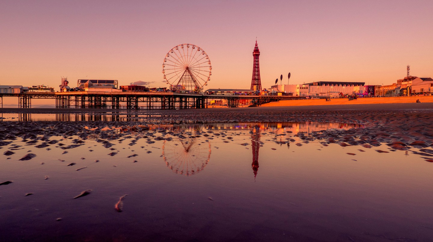 Blackpool is just one of many exciting places to visit in Lancashire