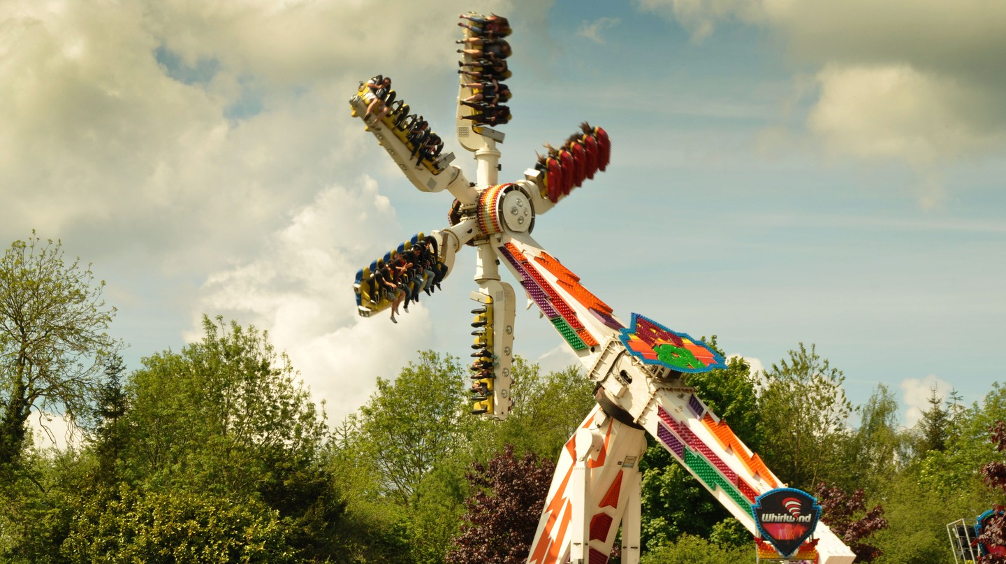 Lightwater Valley has more than 30 rides and even boasts Europe's longest roller coaster