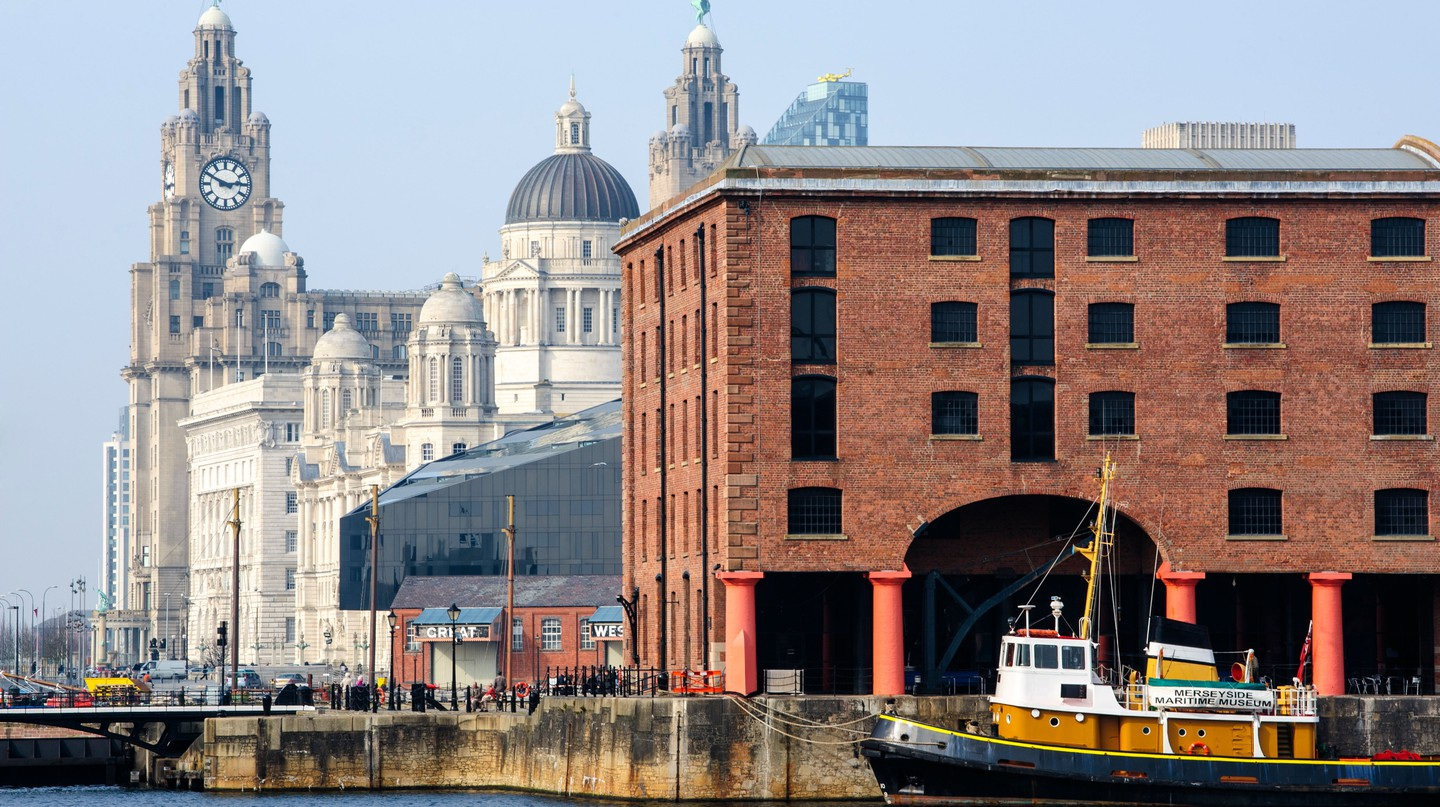 The Royal Liver Building and Albert Dock make up part of the Unesco-list waterfront in Liverpool