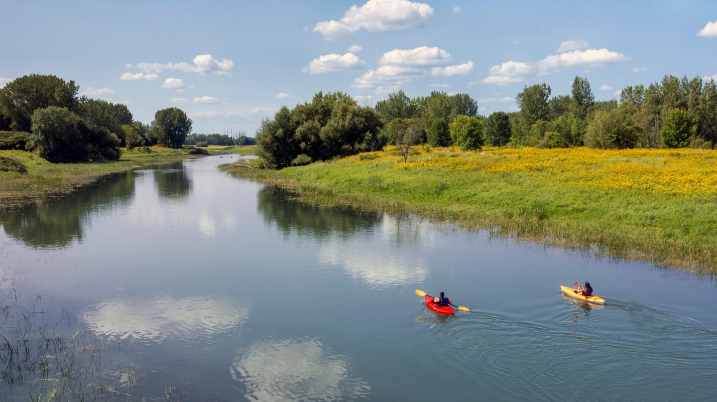Îles-de-Boucherville National Park offers kayaking and a whole host of outdoor adventures