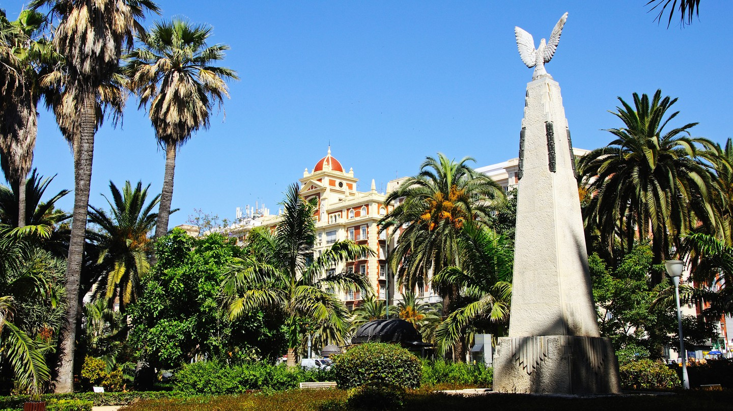 Take a break in one of Málaga's green spaces