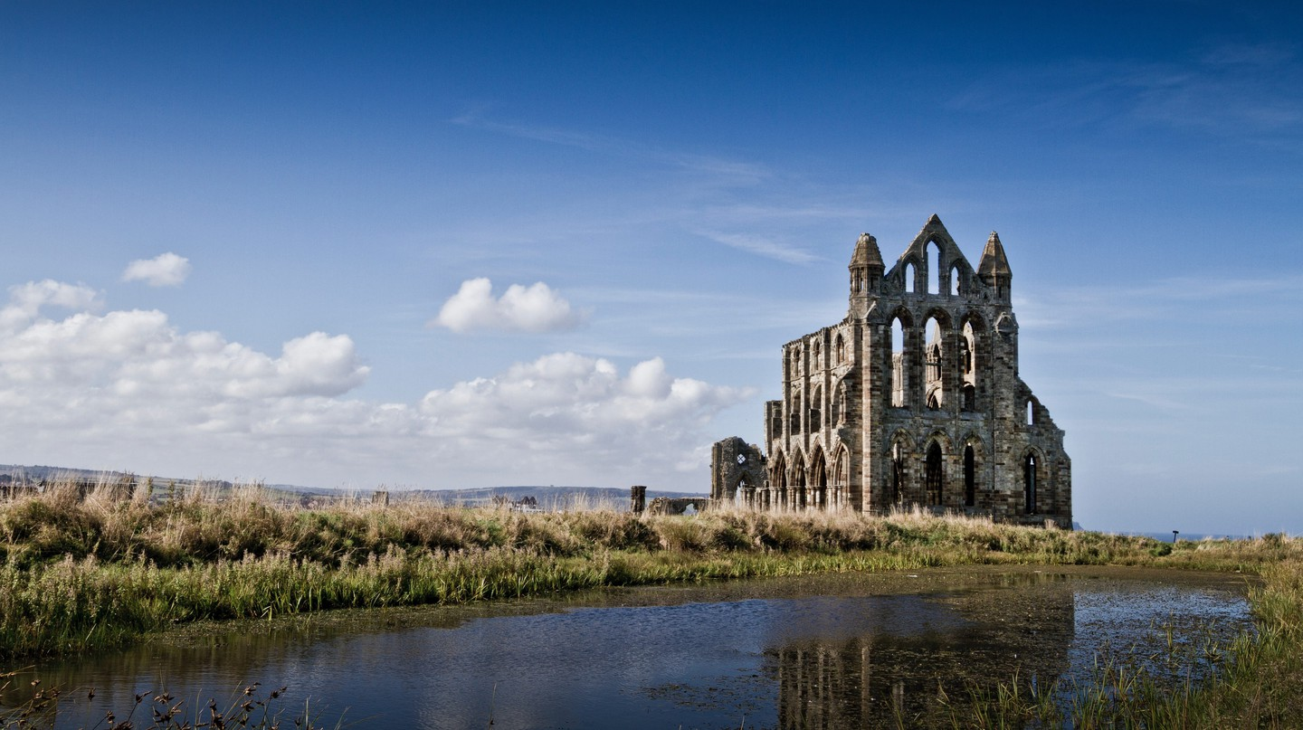 Yorkshire offers an abundance of scenic and historical sites, such as the ruins of Whitby Abbey