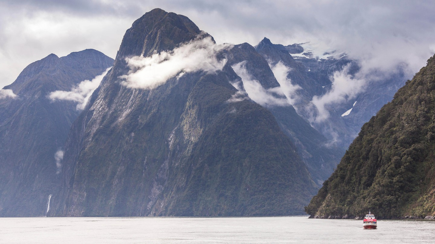 Milford Sound is a great place to visit in the colder months