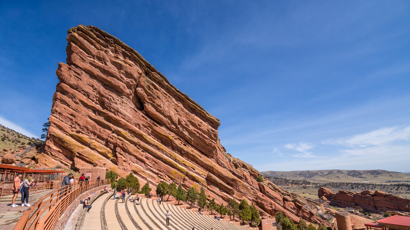 Red Rocks Park and Amphitheatre hosts everything from concerts to yoga