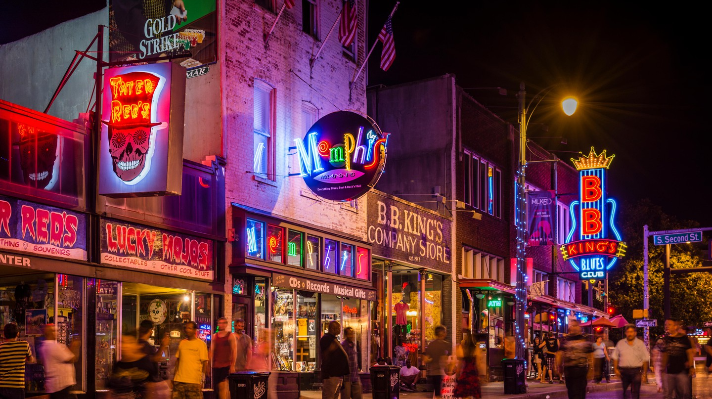 Memphis is a must-visit destination for the music lover