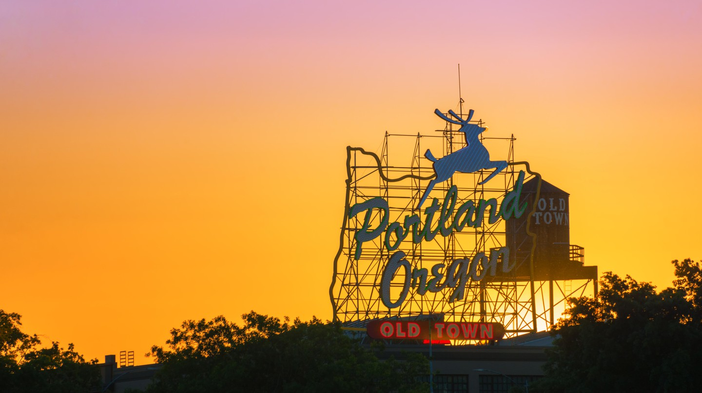 Portland's residents are known for their quirkiness, but the city's history has its fair share of peculiarities too