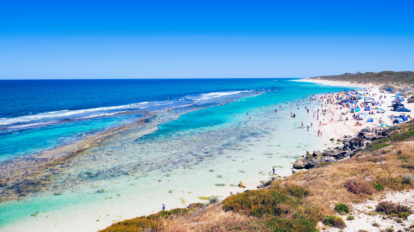 Amazing snorkelling spots can be found all around Perth