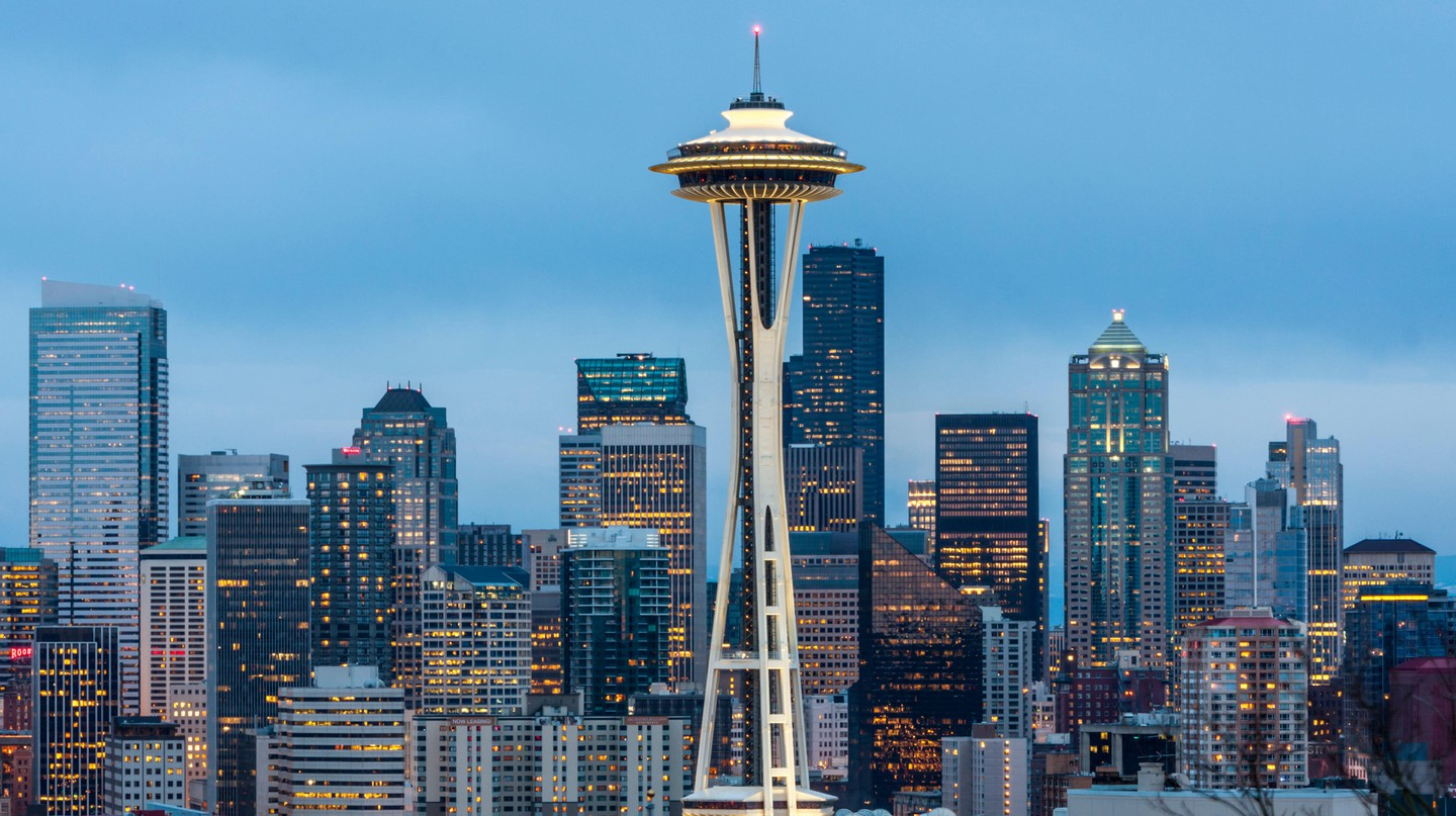 The iconic Space Needle is one of many must-see attractions in Seattle