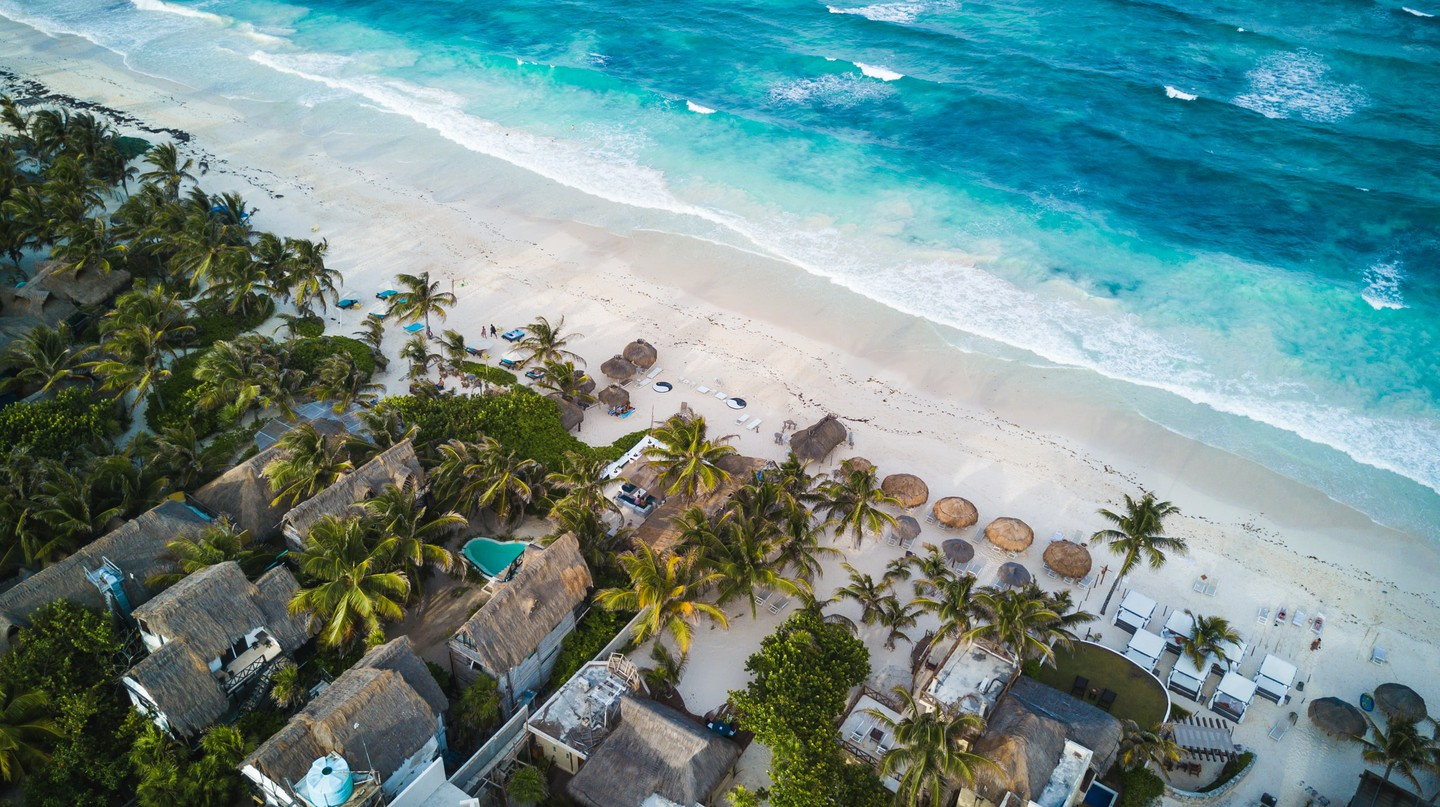 Tulum is just one of the options for setting up your mobile office in paradise