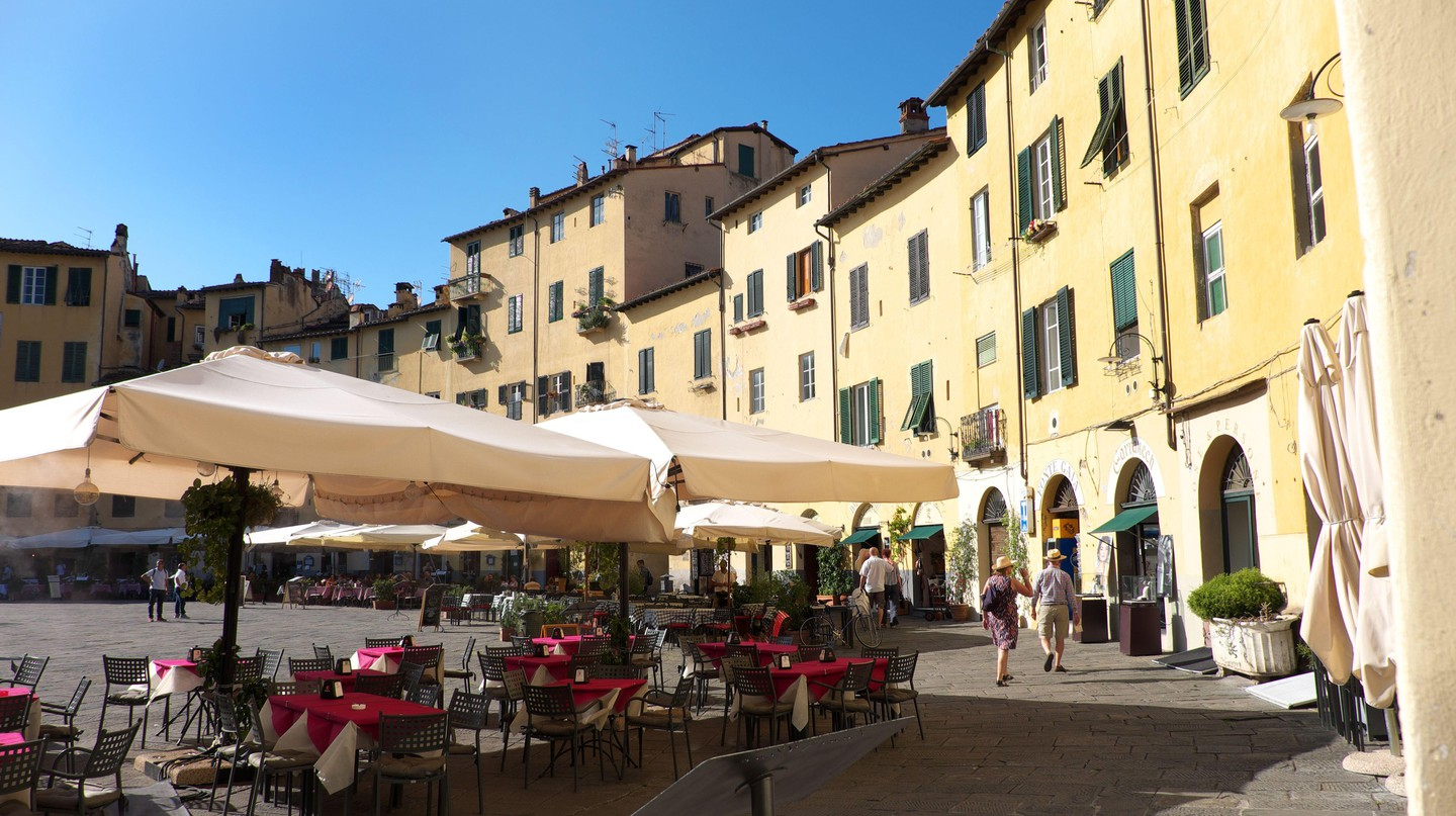 Lucca is one of the most charming destinations in Tuscany, Italy