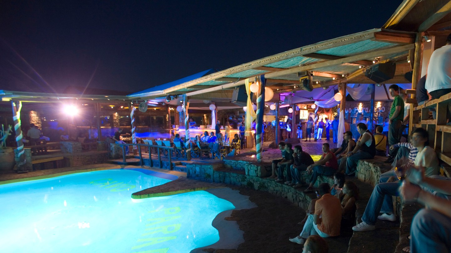 Cavo Paradiso is one of the top nightclubs in Mykonos, the nightlife capital of the Greek islands