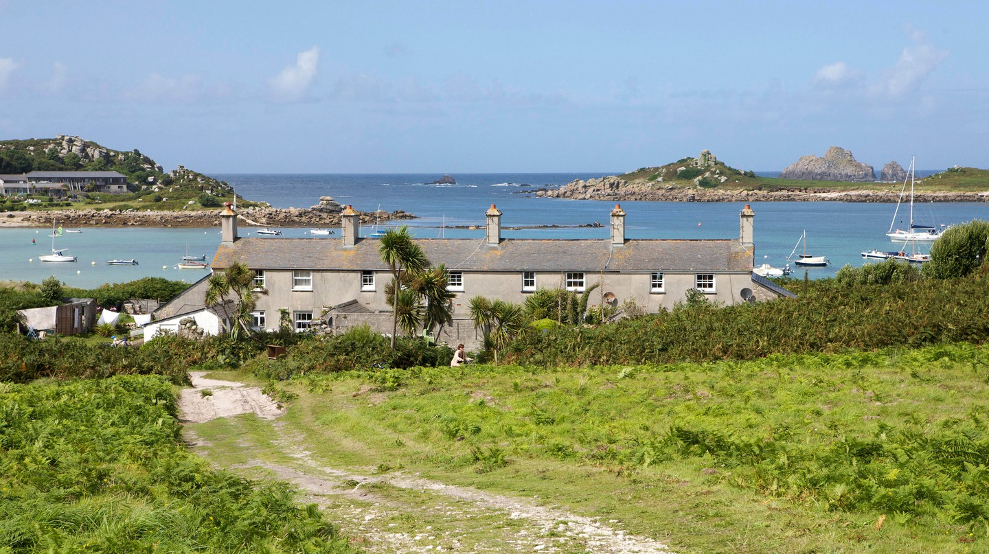 The family-owned Tresco, in the Isles of Scilly, is relatively tourist-free