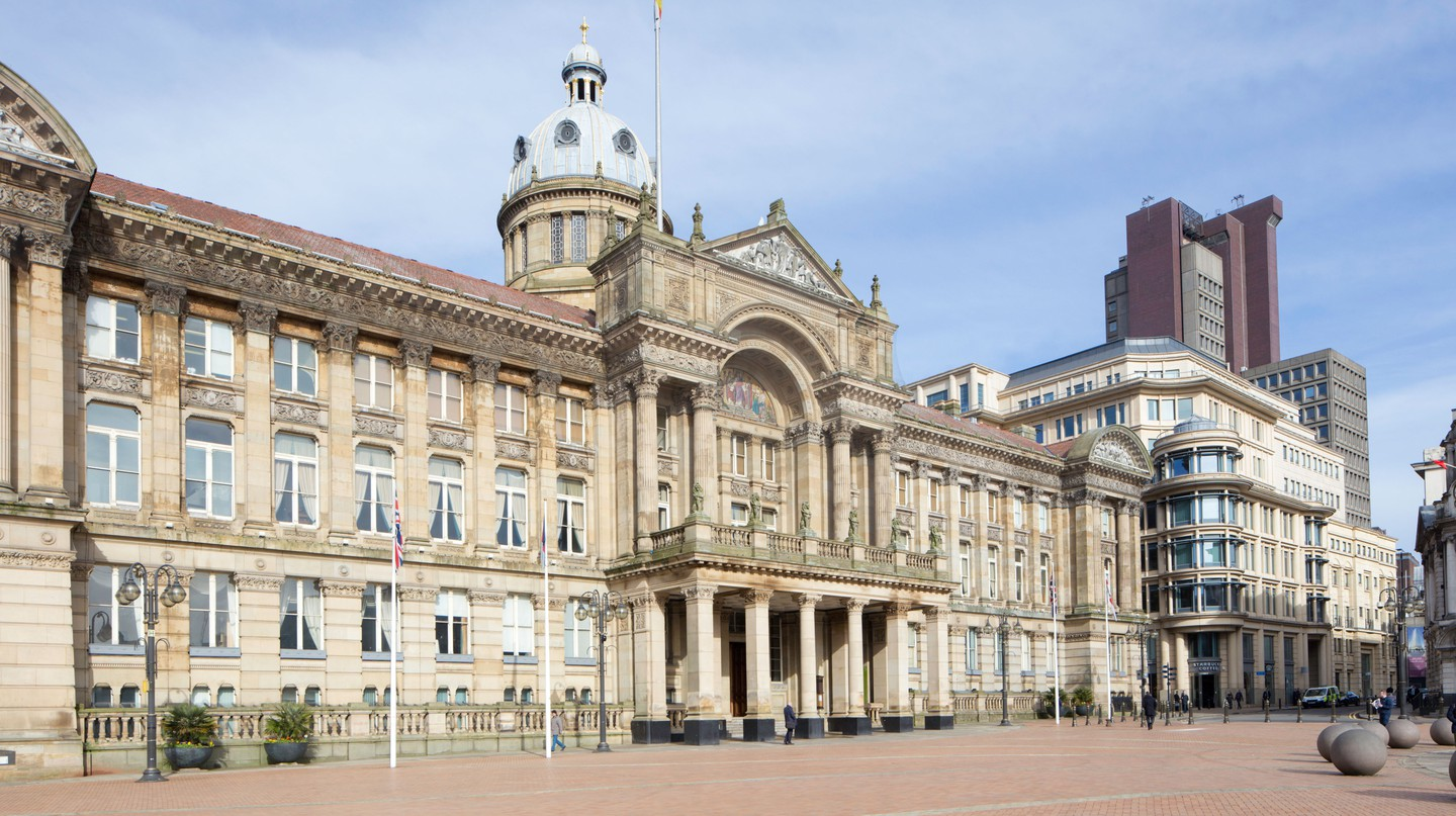Birmingham City Council House in Victoria Square is just one of many architectural landmarks in the city