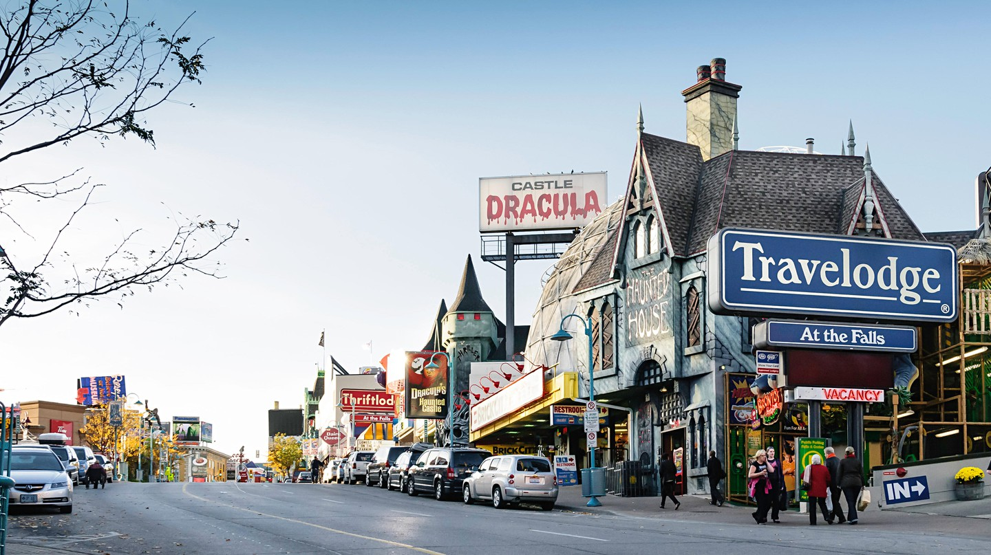 Niagara Falls may be a popular tourist destination, but it offers plenty of restaurants that go beyond typical tourist-oriented fare