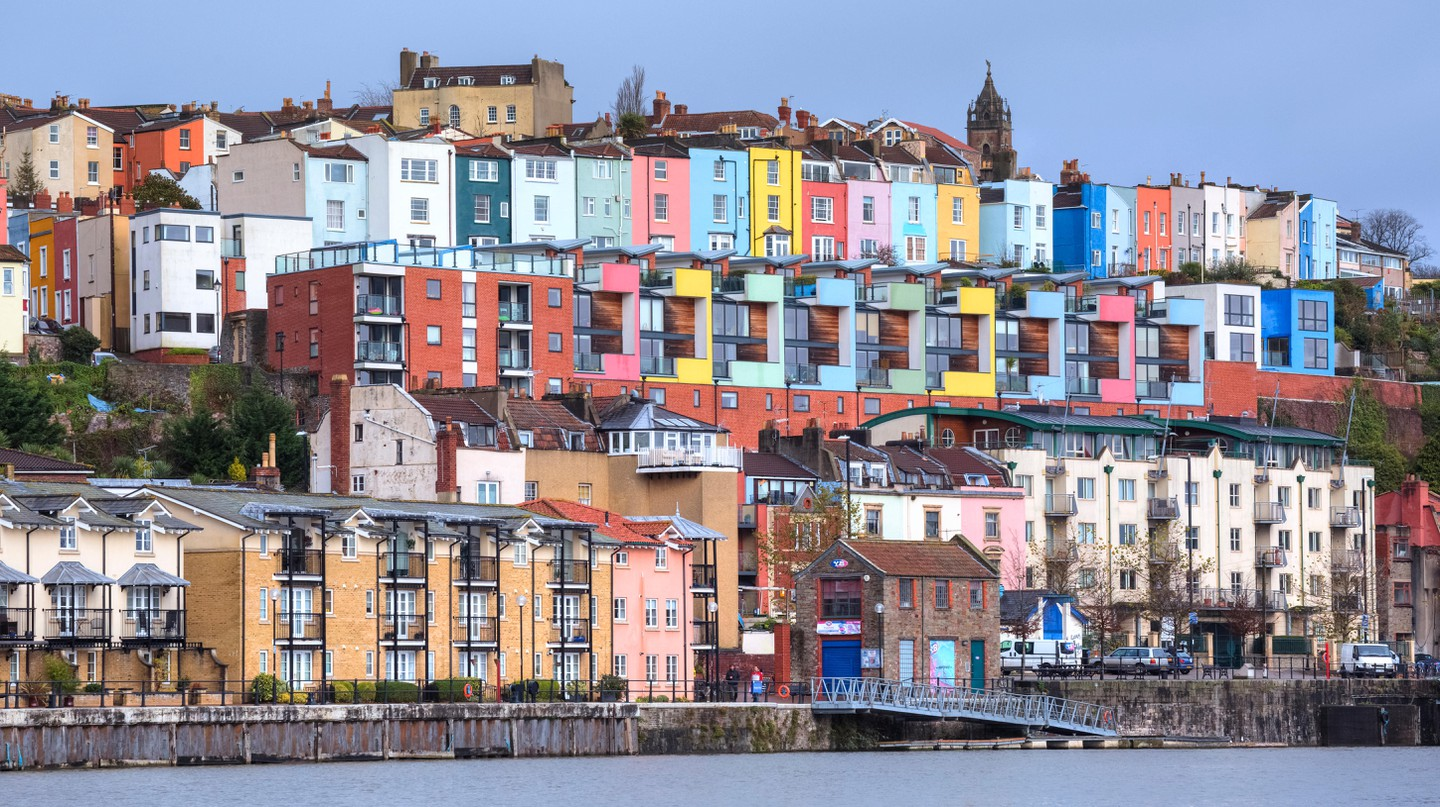 Bristol offers quirky, colourful vistas along the River Avon