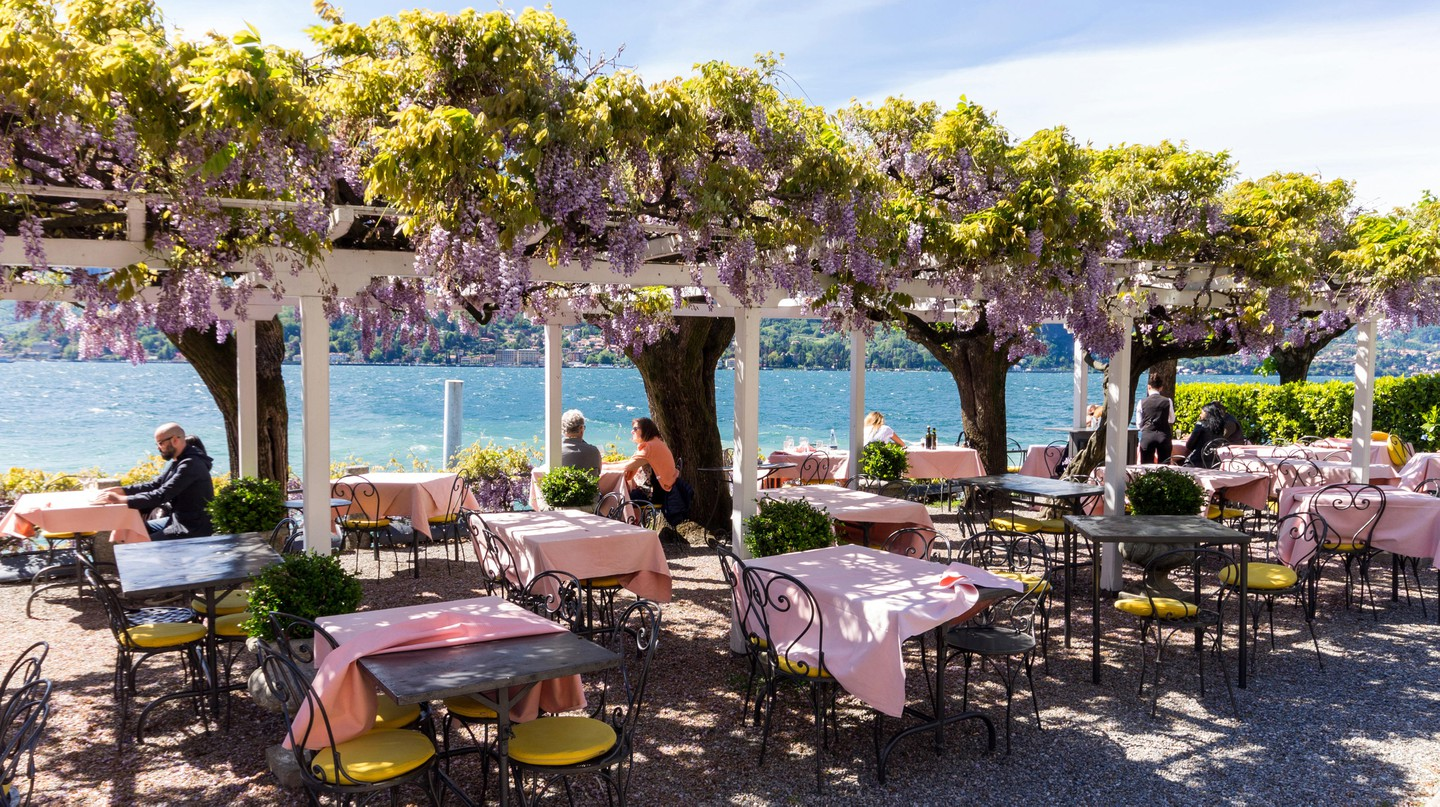 Dining on Lake Como is an experience not to be missed